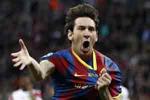 Lionel Messi (Barcelona) - Reuters