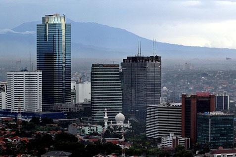 Gedung pencakar langit sebagai indikator pertumbuhan ekonomi - Wordpress