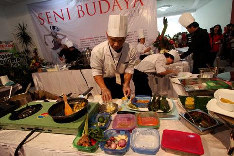 Ilustrasi festival kuliner - Bisnis