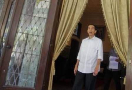 Jokowi - Antara/Herka Yanis Pangaribowo
