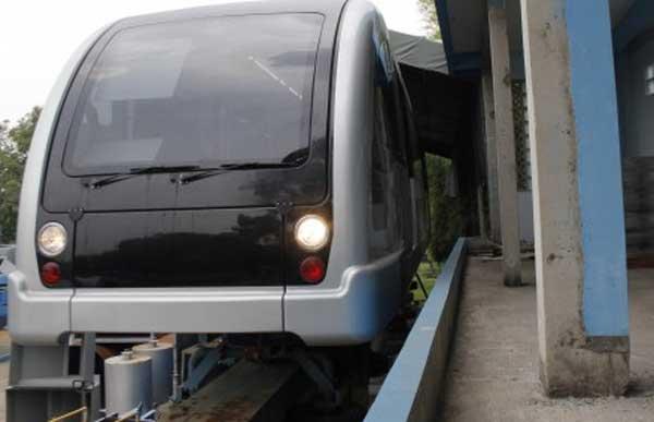 Prototipe monorel buatan Indonesia UTM-125. - antara