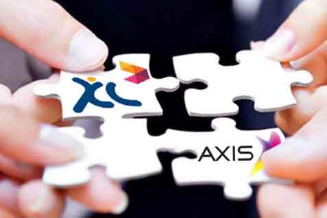Ilustrasi Merger XL-Axis - JIBI