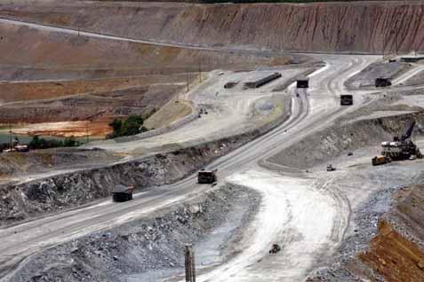Lokasi pertambangan Newmont Nusa Tenggara - Bisnis