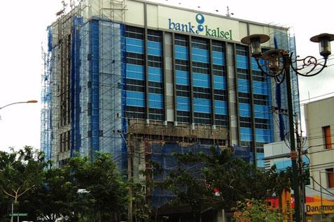 Kantor Bank Kalsel - Antara