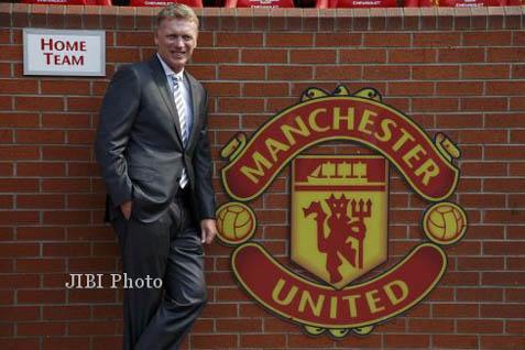 Pelatih Manchester United David Moyes - premierleague.com