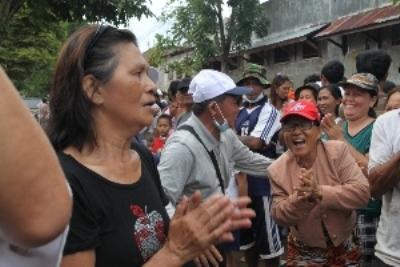 Yayasan Buddha Tzu Chi Indonesia bantu korban banjir bandang Manado - tzuchi.or.id