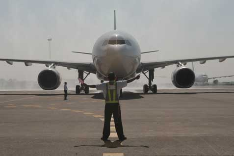 Kemenhub membangun bandara di beberapa tempat daerah terluar. - bisnis.com