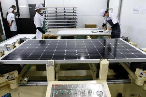Energi matahari dipandang lebih hemat secara berkelanjutan dibandingkan dengan sumber energi konvensional.  - bisnis.com