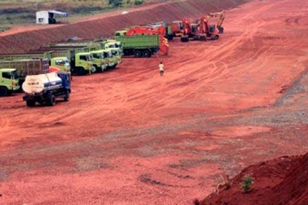 Pembangunan jalan tol  - JIBI