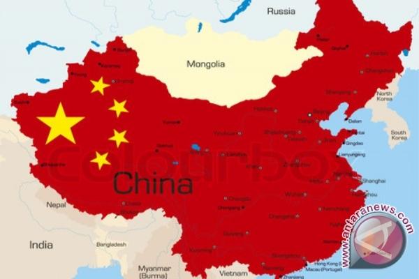 Peta wilayah China - Reuters