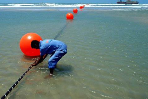 Pemasangan kabel bawah laut - Worldpress