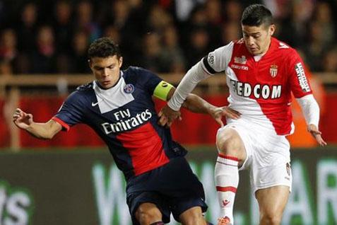 Pertarungan pemain AS Monaco dan PSG - Yahoo
