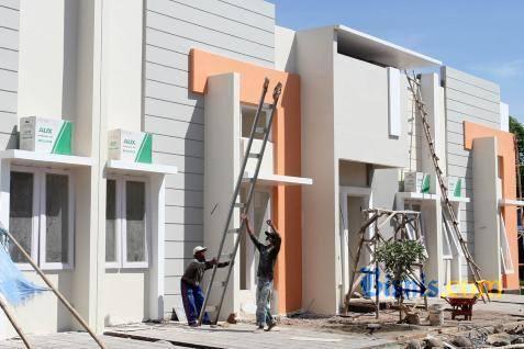 Ilustrasi proyek properti.  - Bisnis.com