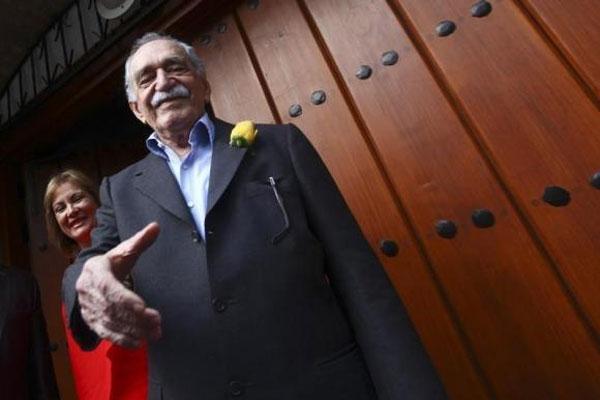 Gabriel Garcia Marquez.  - reuters