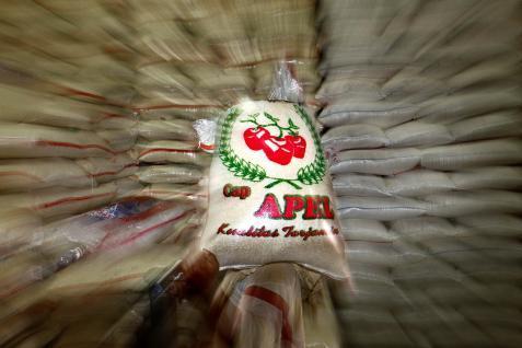 Kenaikan atau penurunan harga beras masih wajar.  - bisnis.com