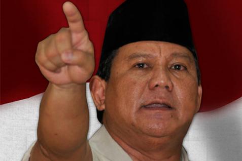 Capres dari Partai Gerindra Prabowo Subianto - JIBI
