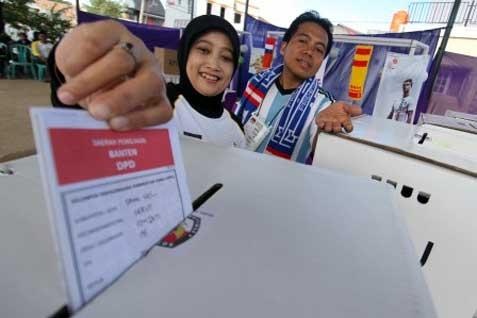 Dari 348 daftar pemilih tetap (DPT) yang ada, terdapat kelebihan suara mencapai 78 suara.  - bisnis.com