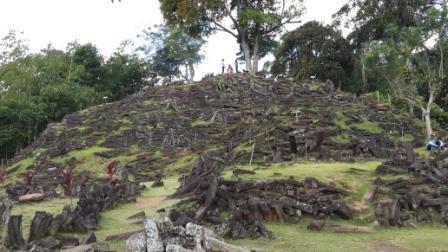 Situs Megalitik Gunung Padang di Cianjur Jawa Barat - JIBI/Sukirno
