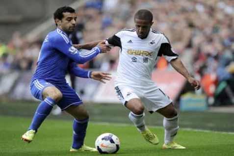 Pemain Chelsea Mohamed Salah - Reuters