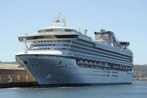 Kapal Princess Cruises - Bisnis.com