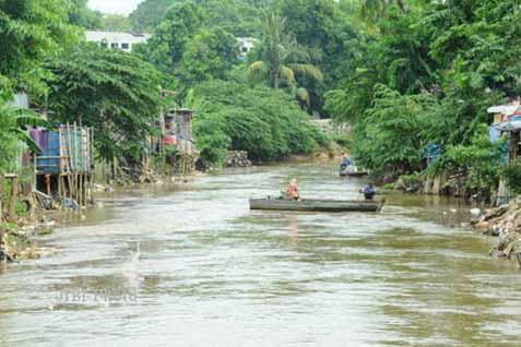 Ilustrasi/Sungai Ciliwung