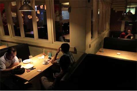 Salah satu restoran Jepang. Pendapatan Bekasi dari pajak restoran tinggi - Antara
