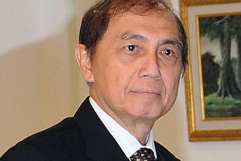 Mantan Ketua BPK Hadi Purnomo. KPK Menetapkannya sebagai tersangka - Antara