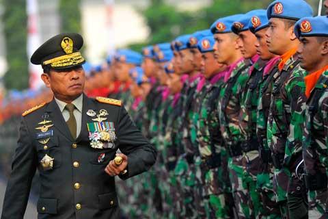 Panglima TNI Jenderal Moeldoko -