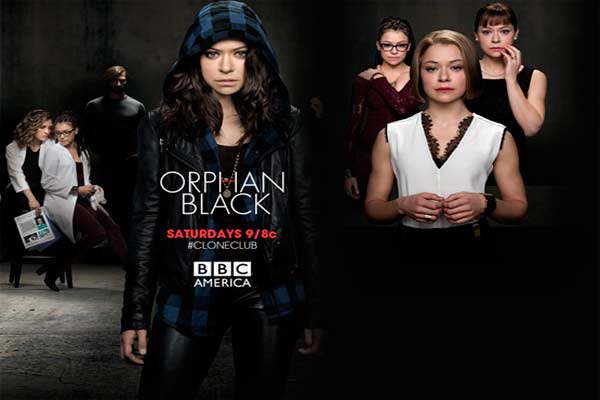 Orphan Black adalah serial televisi fiksi ilmiah Kanada yang dibintangi Tatiana Maslany sebagai sejumlah wanita identik yang diturunkan menjadi klon. Serial ini berfokus pada Sarah Manning, seorang wanita yang mengasumsikan identitas clone-nya, Elizabeth (Beth) Childs, setelah menyaksikan bunuh diri Beth.  - twitter