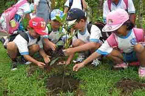Anak-anak diajarkan mencintai lingkungan - JIBI