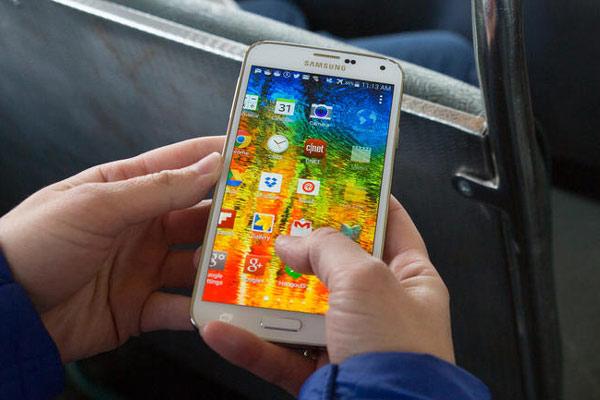 Samsung Galaxy S5 - cnet