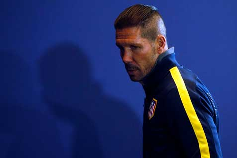 Pelatih Athletico Madrid Diego-Simeone  - Reuters