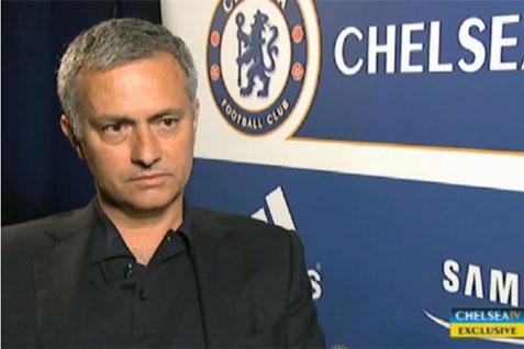 Pelatih Chelsea Jose Mourinho