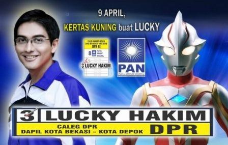 Poster Lucky Hakim di Twitter - @sayaluckyhakim