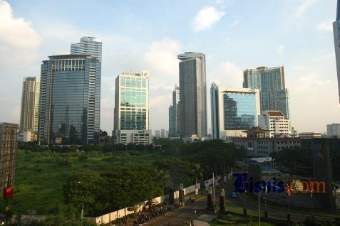Perkantoran di Jakarta. Permintaan di CBD turun 32% - Bisnis
