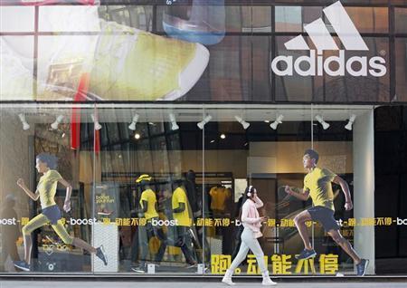 Merek Adidas salah satu produk yang dibuat di Boyolali - Reuters