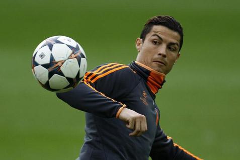 Cristiano Ronaldo akhirnya tampil - Reuters