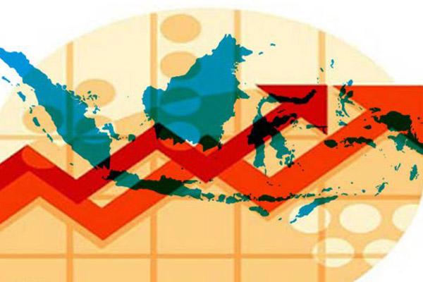 Ilustrasi pertumbuhan ekonomi. Kondisi eksternal untungkan Indonesia - JIBI