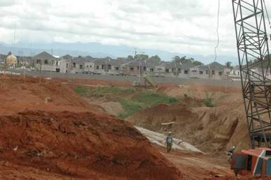 Lahan perumahan. Pengadaan bisa langsung 5 hektare - JIBI