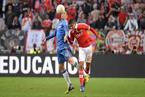 Benfica saat menghadapi Chelsea - JIBI