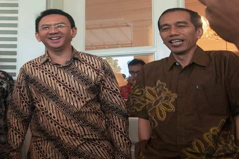 Ahok dan Jokowi - Bisnis.com