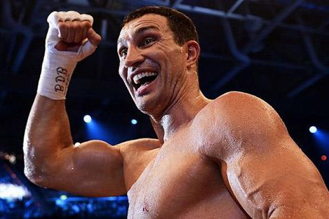 Petinju kelas berat dunia Wladimir Klitschko. Mempertahankan gelar dengan kemenangan KO atas Alex Leapai - Telegraph