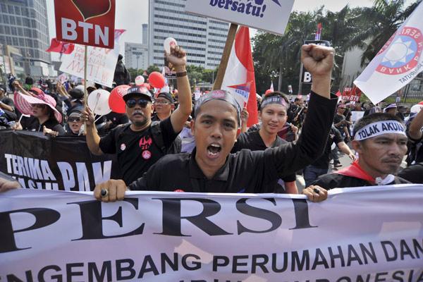 Serikat Pekerja BTN meminta Menteri Dahlan membatalkan agenda rapat umum pemegang saham luar biasa (RUPSLB) yang akan digelar pada 21 Mei 2014.  - bisnis.com