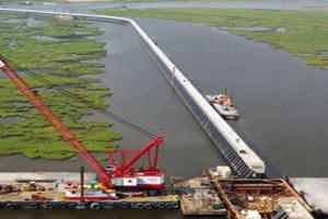 Giant Sea Wall akan dimulai Juni 2014