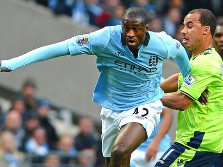 Yaya Toure (Manchester City) - JIBI