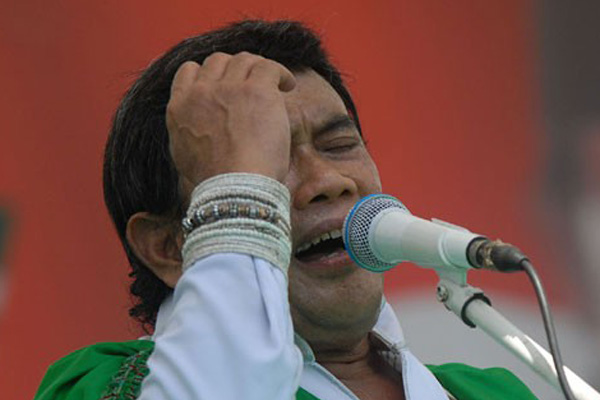 Rhoma Irama saat tampil pada kampanye PKB. Partai tersebut didesak gelar mukernas untuk tentukan capres - JIBI