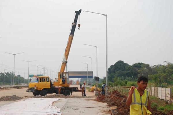 Pembangunan jalan tol. Petinggi Pejagan Pemalang Toll Road Penuhi Panggilan BPJT - JIBI