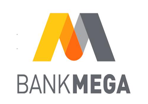 Logo Bank Mega. Laba melonjak setelah anjlok - Bisnis