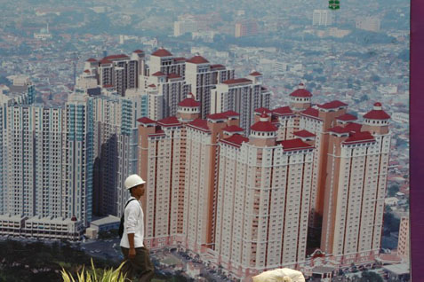 Gedung pencakar langit di Jakarta. Signature Tower Ikut Sidang Tim Penilai Arsitektur Kota - Bisnis