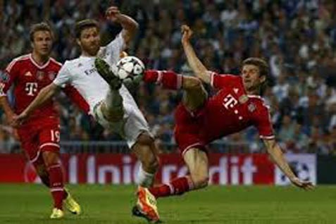 Bayern Munchen vs Real Madrid - facebook.com